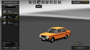 FIAT 131 for Euro Truck Simulator 2 miniature 5