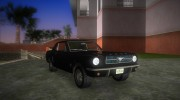 Ford Mustang 1965 for GTA Vice City miniature 2