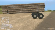 Прицеп-роспуск for Spintires DEMO 2013 miniature 3