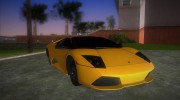 Lamborghini Murcielago LP640 Roadster for GTA Vice City miniature 2