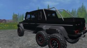 Mercedes-Benz G65 AMG 6X6 for Farming Simulator 2015 miniature 4