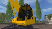Komatsu PC 210 LC для Farming Simulator 2015 миниатюра 6