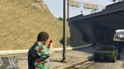 Desert Eagle Crimson Edition for GTA 5 miniature 2