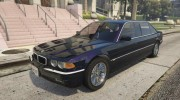 BMW L7 - 750IL E38 for GTA 5 miniature 6