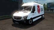 Mercedes-Benz Sprinter Long for Euro Truck Simulator 2 miniature 1