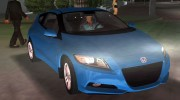 Honda CR-Z 2010 for GTA Vice City miniature 3