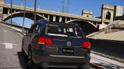 Volkswagen Touareg V8 tdi 1.0 for GTA 5 miniature 3