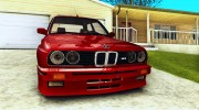Bmw M3 E30 Stock for GTA San Andreas miniature 6
