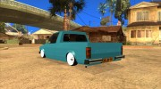 Volkswagen Сaddy 1980 for GTA San Andreas miniature 8