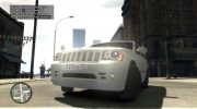 Jeep Grand Cherokee SRT8 для GTA 4 миниатюра 13