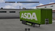 ASDA trailer for Euro Truck Simulator 2 miniature 2