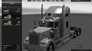 Kenworth W900 for Euro Truck Simulator 2 miniature 2