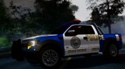 Ford F-150 SVT Raptor 2012 Police version for GTA San Andreas miniature 4