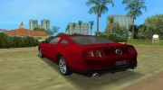 Ford Shelby GT 500 2010 для GTA Vice City миниатюра 4
