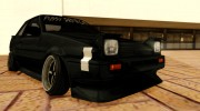 1986 Toyota Trueno AE86 Coupe P Destroyer for GTA San Andreas miniature 3