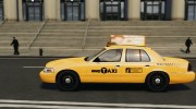Ford Crown Victoria NYC Taxi 2012 для GTA 4 миниатюра 3