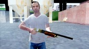 Pump Shotgun Halloween для GTA San Andreas миниатюра 1