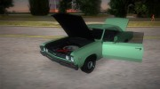 Chevrolet Chevelle SS 196 for GTA Vice City miniature 5