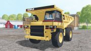 Caterpillar 773E 2002 for Farming Simulator 2015 miniature 1