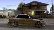 BMW M5 E34 for GTA San Andreas miniature 5