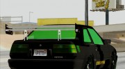 GTA 5 Karin Futo - Monster Energy for GTA San Andreas miniature 10