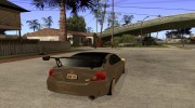 Toyota Scion tC Edited для GTA San Andreas миниатюра 4