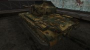 Шкурка для T32 Temperate Ghost for World Of Tanks miniature 3