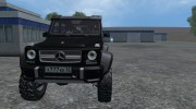 Mercedes-Benz G65 AMG 6X6 for Farming Simulator 2015 miniature 2