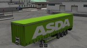 ASDA trailer for Euro Truck Simulator 2 miniature 3