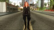 Captain America: Civil War Black Widow for GTA San Andreas miniature 2