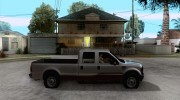 Ford F350 for GTA San Andreas miniature 5