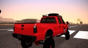 Ford F-350 2010 Lifted Sema Show for GTA San Andreas miniature 6