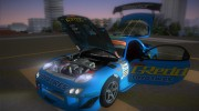 Mazda RX-7 FD3S RE Amemiya (Racing Car GReddy) for GTA Vice City miniature 6