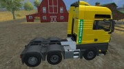 MAN TGS with Strobe Light v 2.5 для Farming Simulator 2013 миниатюра 7