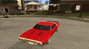 Plymouth Roadrunner для GTA San Andreas миниатюра 1
