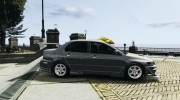 Mitsubishi Lancer Evolution VIII for GTA 4 miniature 5