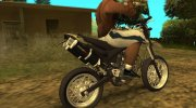 Yamaha XT 660 Enduro for GTA San Andreas miniature 2