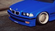 BMW E36 328i 4 Door for GTA 5 miniature 2