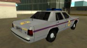 Ford LTD Crown Victoria 1991 Mississippi State Trooper for GTA San Andreas miniature 3