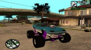 GTA 5 Imponte Ruiner Monster Truck for GTA San Andreas miniature 1