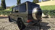 2013 Mercedes-Benz G65 AMG v1.2 for GTA 5 miniature 2