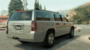 2015 Chevrolet Suburban (Unlocked) Final for GTA 5 miniature 4