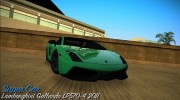Lamborghini Gallardo LP570-4 2011 for GTA Vice City miniature 1