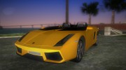 Lamborghini Concept S for GTA Vice City miniature 1