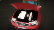 Audi S3 for GTA Vice City miniature 4