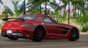Mercedes-Benz SLS AMG Black Series 2013 для GTA San Andreas миниатюра 4