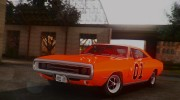 1970 Dodge Charger R/T 440 (XS29) для GTA San Andreas миниатюра 10