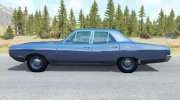 Dodge Coronet sedan (WP41) 1970 v2.2 for BeamNG.Drive miniature 2