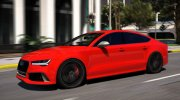 Audi RS7 Sportback for GTA 5 miniature 3