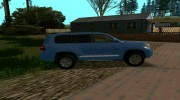 Toyota Land Cruiser 200 for GTA San Andreas miniature 3
